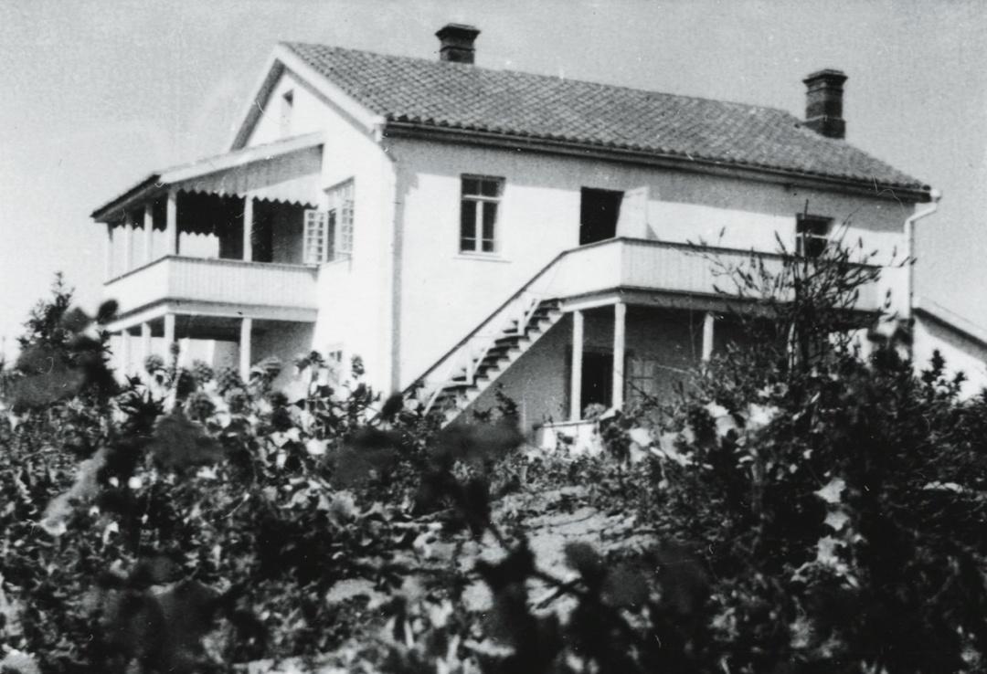 Дом Волошиных, 1906 год, еще до перестройки.