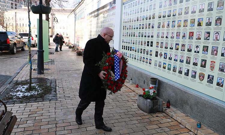 フィリップ・リーカー氏、キーウにて 写真:U.S. Embassy Kyiv