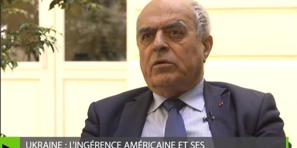 Ален Жуіє, колишній керівник Служби зовнішньої розвідки Франції
