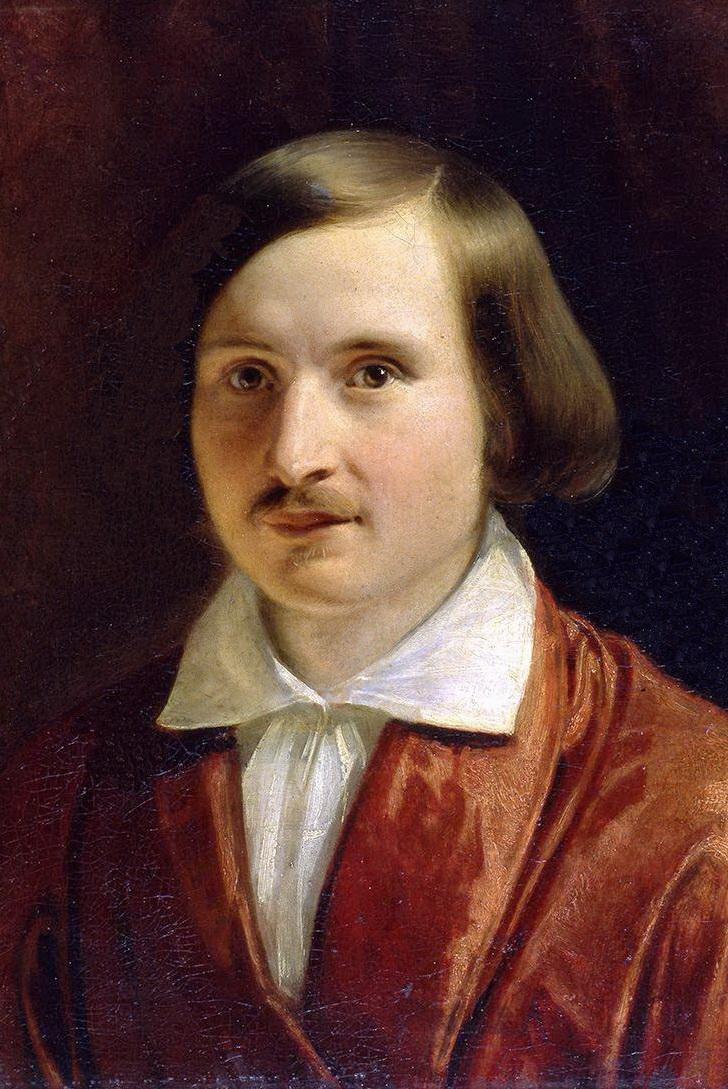 Александр Иванов, портрет Николая Гоголя, 1841 г.