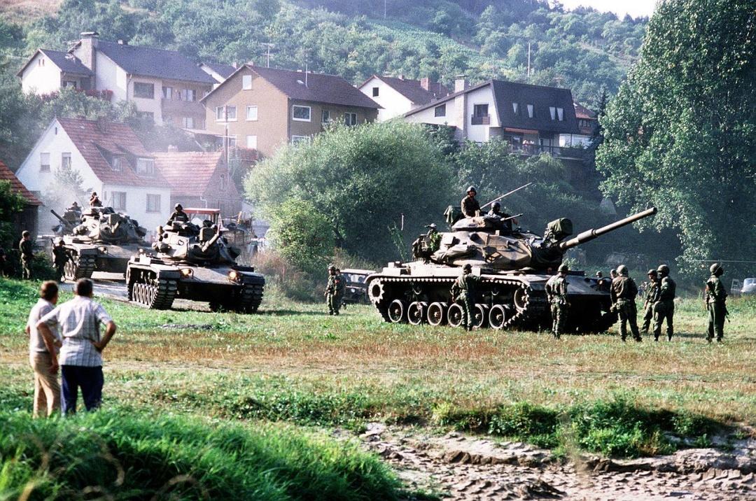 REFORGER '82: американські танки у Західній Німеччині, вересень 1982 року / Фото: defenseimagery.mil