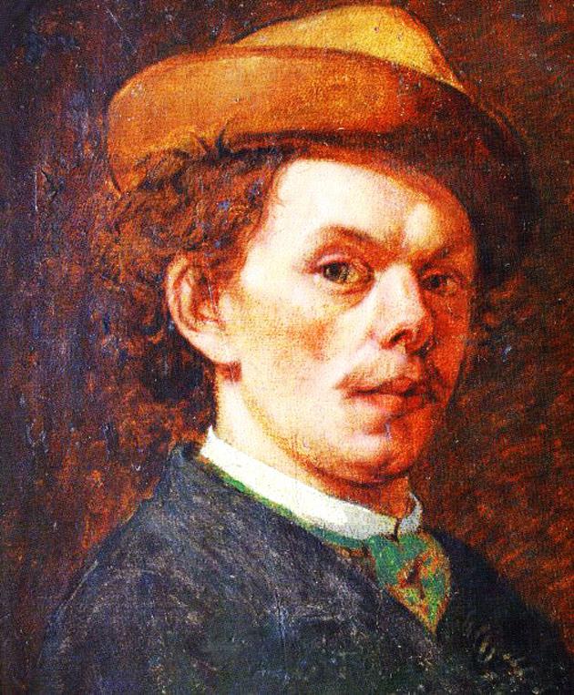 Теофіл Копистинський, автопортрет