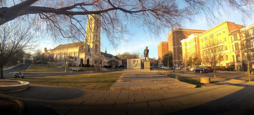 Меморіал Тарасові Шевченку у Вашингтоні.