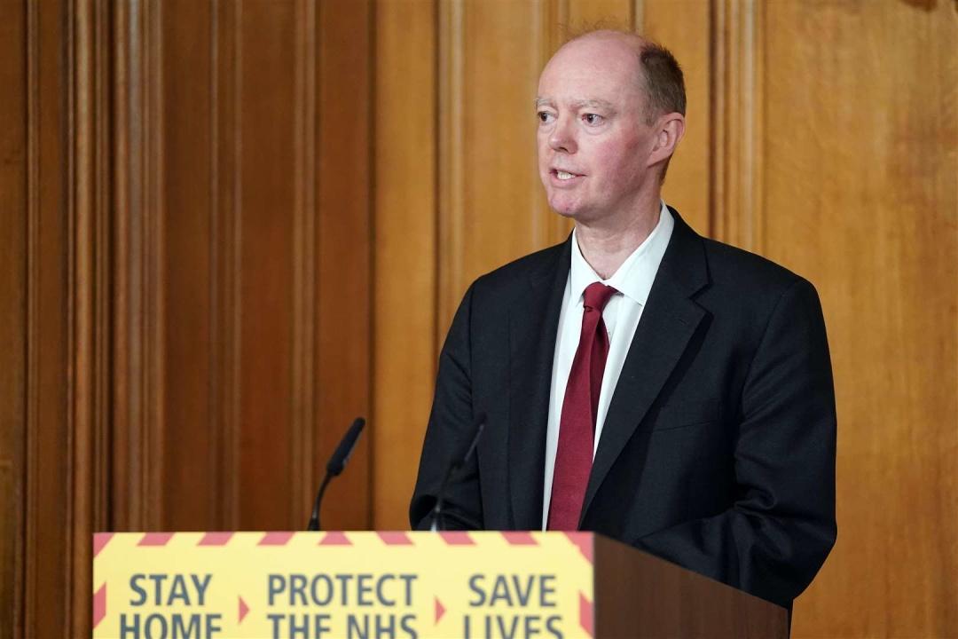 Кріс Вітт / Фото: Pippa Fowles/Crown Copyright/10 Downing Street