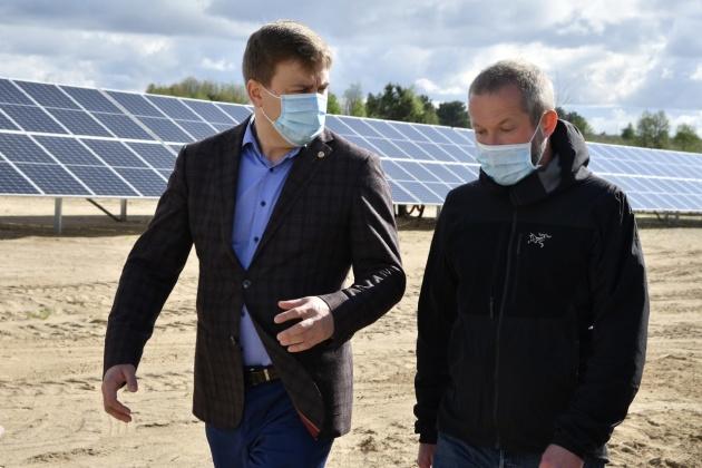 На Рівненщині будують потужну сонячну електростанцію