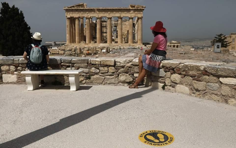 Греція спочатку прийматиме гостей тільки з 20 країн / Фото: ekathimerini.com
