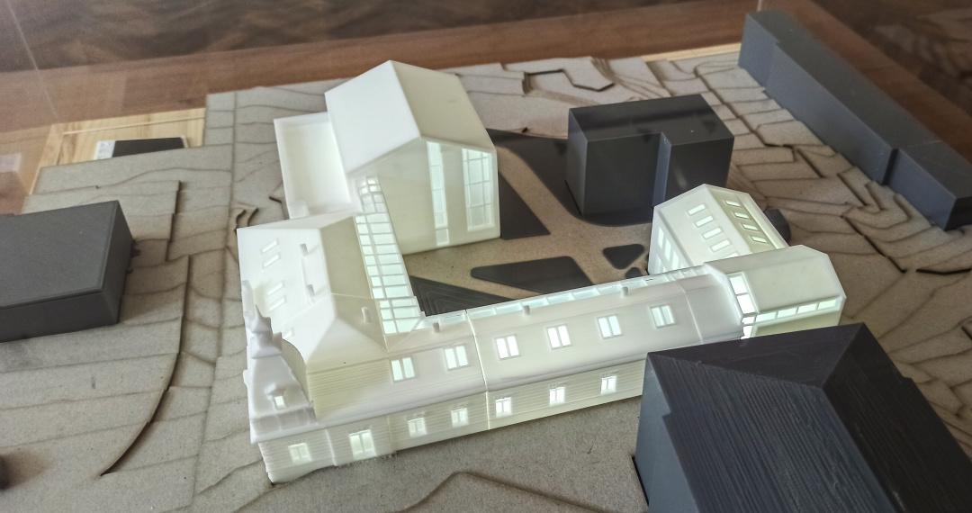 У Калуші презентували проєкт реконструкції ратуші