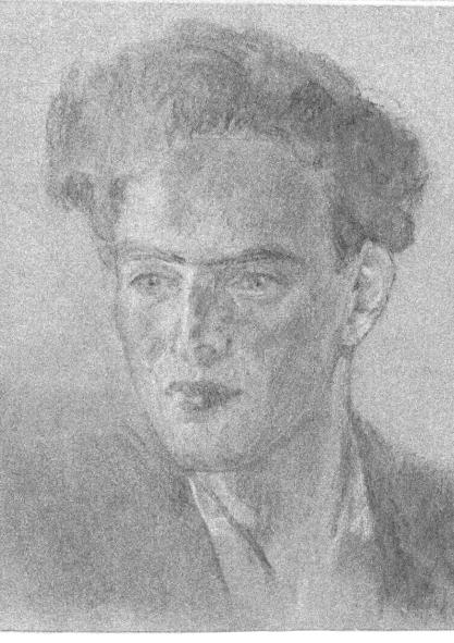 *портрет Наума Тихого, 1949 рік, автор Зіновій Толкачьов.