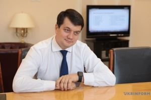 Razumkov hopes to expand cooperation between parliaments of Ukraine and Sweden