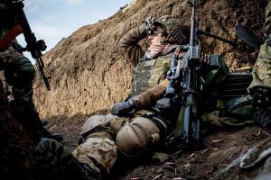 Під Авдіївкою окупанти застосовують міномети та гранатомети, втрат немає
