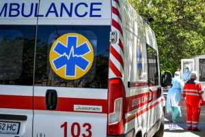 Ukraine receives three ambulances from Slovakia