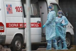 Кількість випадків COVID-19 у Росії вперше перевищила 16 тисяч за добу