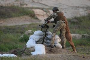 """Leichte Panzerabwehrwaffe """"Korsar"""" in Oblast Tschernihiw getestet"""