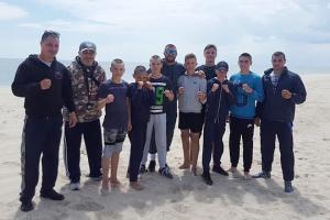 Ломаченко провів показове тренування з юними боксерами Одещини