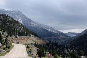 У курортній Анталії випав сніг