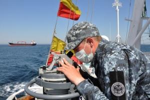Українські прикордонники зафіксували кораблі ЧФ РФ у районі газових родовищ