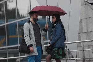Київ накрили дощі