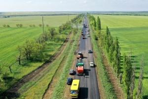До кінця року відремонтують понад 70 кілометрів траси Дніпро – Миколаїв