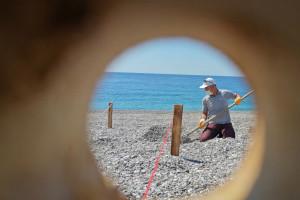 У Туреччині вже розмічають пляжі
