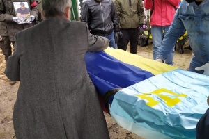 В Киеве похоронили одного из семи застреленных на Житомирщине