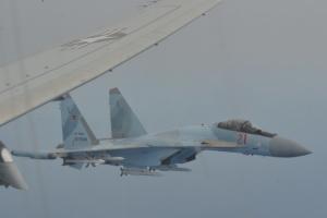 Російські винищувачі здійснили небезпечне перехоплення літака США