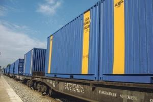 Укрзалізниця вдвічі збільшила обсяги контейнерних перевезень