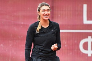 Закарлюк обыграла Киченок на теннисном турнире в Ирпене