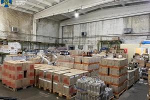 СБУ вилучила 60 тонн алкоголю в трьох областях з підробленим акцизом