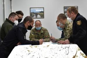 Украинские военные тренируются для работы в совместных штабах НАТО