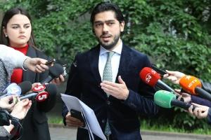 Депутат Лерос приехал в НАПК подавать заявление о коррупции в Минэнерго