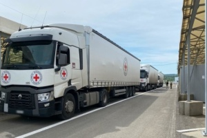 Red Cross sends over 36 tonnes of humanitarian aid to occupied Donbas