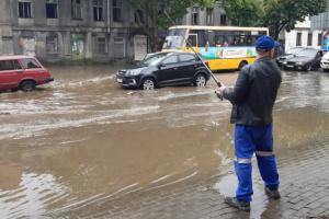 В Одессе за день выпала почти двухмесячная норма осадков