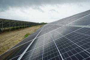На Житомирщине открыли солнечную электростанцию