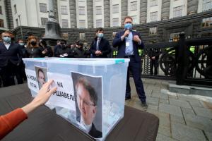 У Києві аграрії протестували проти введення квот на імпорт добрив