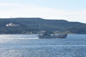 """У Чорне море іде російський десантний корабель """"Саратов"""""""