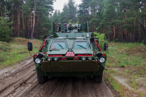 Ukrainian military get another batch of APCs