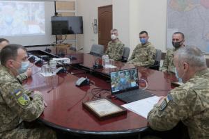 Наєв провів відеоконференцію з українськими миротворцями в Конго