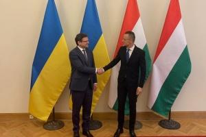 Кулеба і Сійярто проводять зустріч у Будапешті