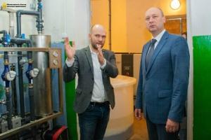 На Кировоградщине запустили мини-завод по производству реагента для очистки воды