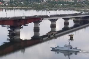 """Катер """"Нікополь"""", який був у полоні РФ, після ремонту повернувся на службу"""