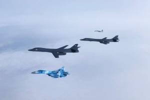 Стратегічні бомбардувальники США перетнули український повітряний простір