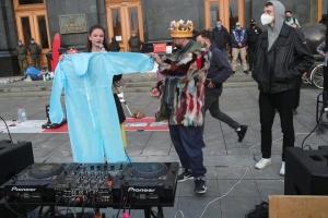 На Банковій пройшла акція за відставку Степанова