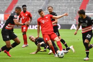 «Бавария» обыграла «Фортуну» и оторвалась от «Боруссии» на 10 очков