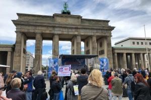 Понад десять демонстрацій відбулись сьогодні в Берліні