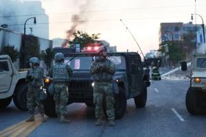 Протесты в США: в Вашингтон отправили около 1,6 тысячи военных