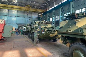 Armee bekommt neue Partie gepanzerter Fahrzeuge