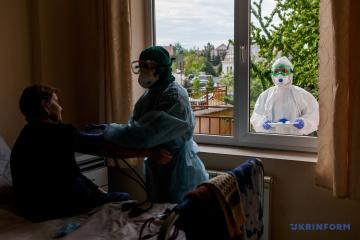 Ucrania registra 10.861 casos de COVID-19