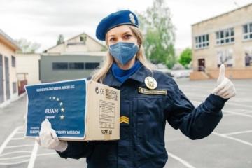 EUAM Ukraine provides personal protective equipment to National Guard