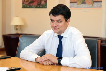 Razumkov signs law on additional UAH 2B to overcome effects of floods