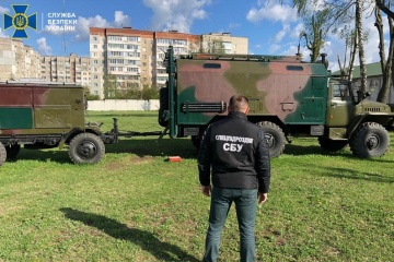 СБУ затримала дезертира, який продавав запчастини до військової радіостанції